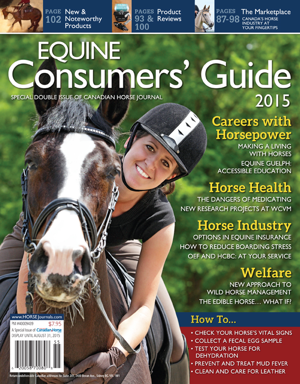 Canadian Horse Journal Magazine of Canadian Horse Journal